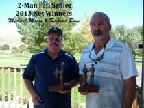 2013 2 Man Senior Fall Classic