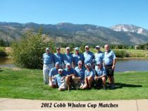 Cobb Whalen Cup Matches