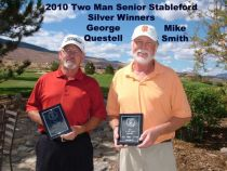 2010 2 Man Senior Stableford