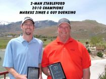 2010 2 Man Stableford