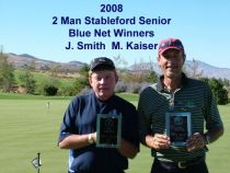 2008 2 Man Senior Stableford