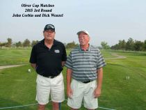 2015 Oliver Cup Matches